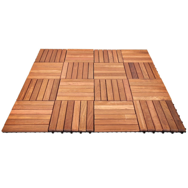 Wie viele Holzfliesen braucht man je Quadratmeter