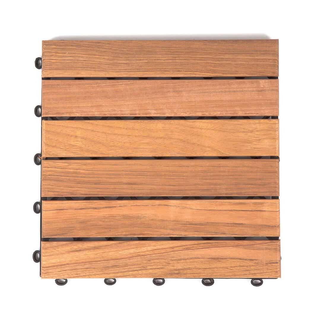 cumaru holzfliesen glatt 30x30cm fsc zertifiziert. Black Bedroom Furniture Sets. Home Design Ideas