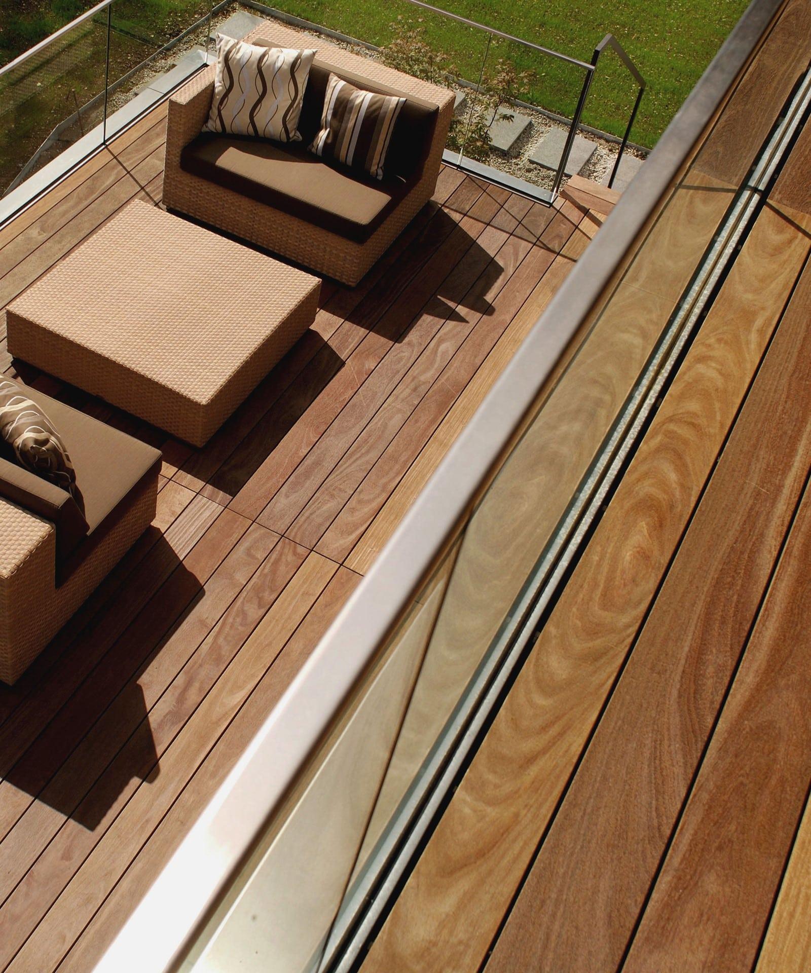 Cumaru Terrassendielen Kaufen 120mm Glatt Gehobelt Fsc 100