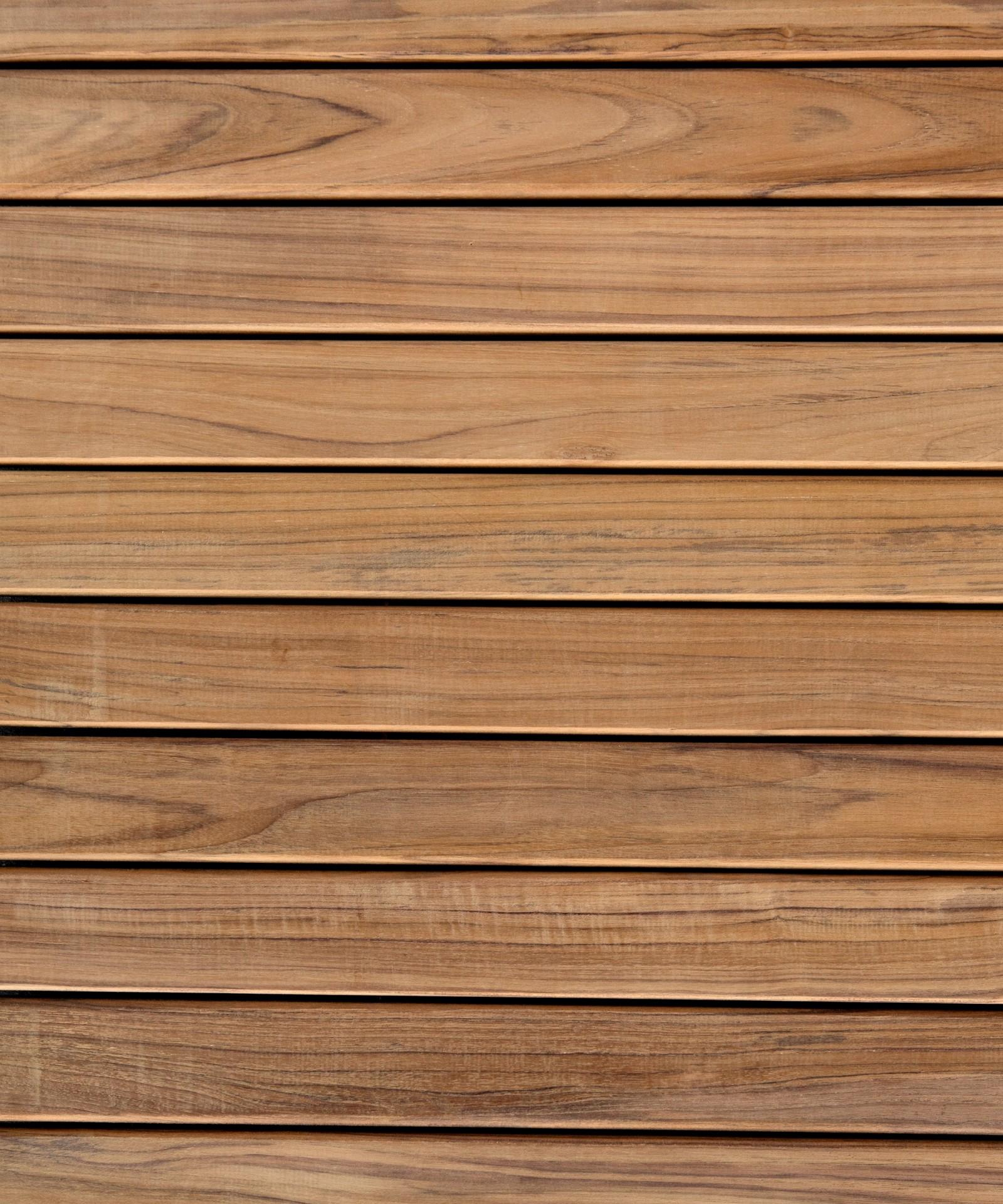 19mm St/ärke Terrassendielen aus Teakholz von BioMaderas/® 50mm Breite 80cm L/änge