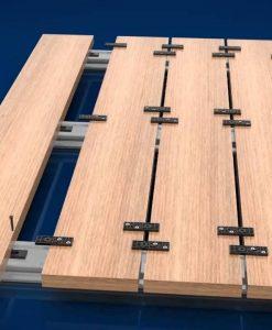 wie werden terrassendielen ohne sichtbare schrauben verlegt. Black Bedroom Furniture Sets. Home Design Ideas