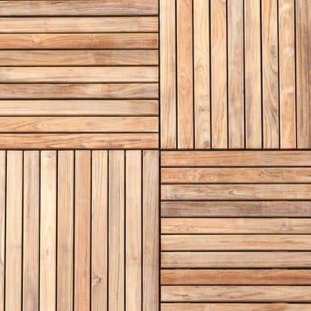 Extrem Holzfliesen aus Tropenholz für Garten, Balkon und Terrasse. QD59