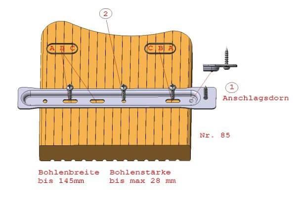 Früh Terrassendielenhalter Bau-Anleitung 06