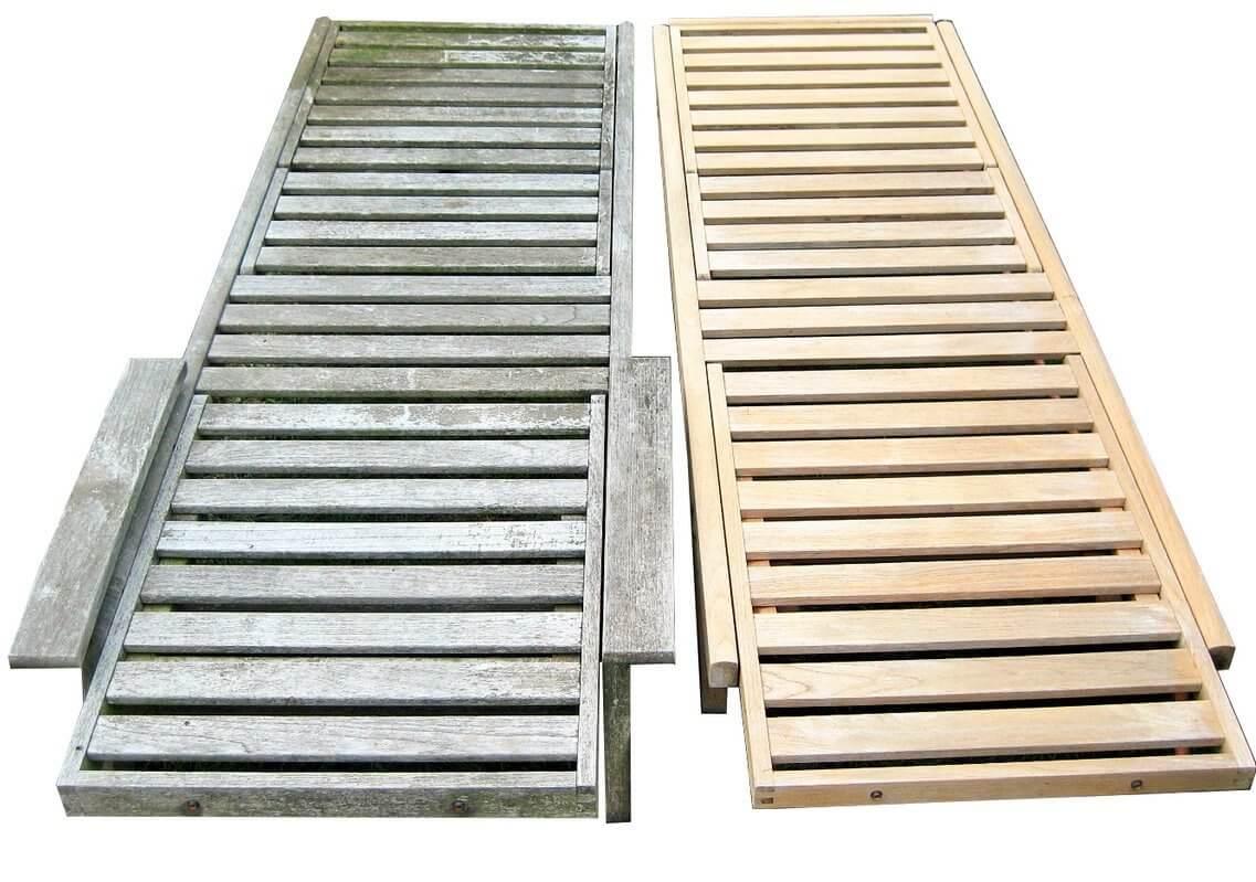 Was hilft gegen rutschige Terrassen len und Holzterrassen