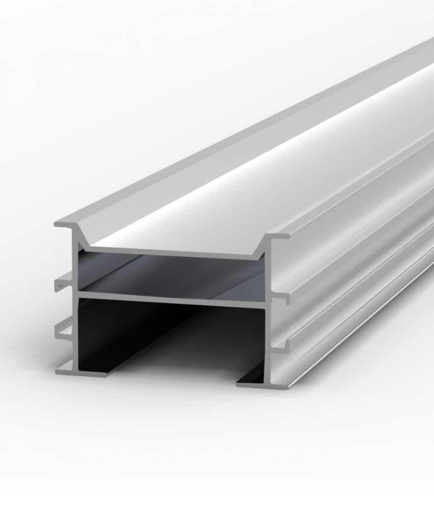 Aluminium Unterkonstruktion für Holzterrassen aus Tropenholz