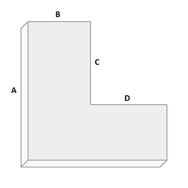 Terrassenplaner L-Form