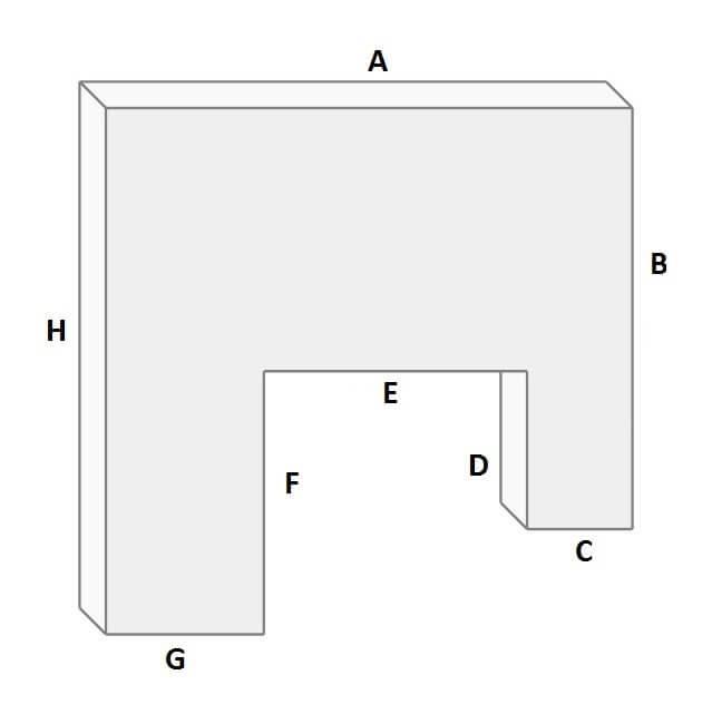 Terrasse in U-Form