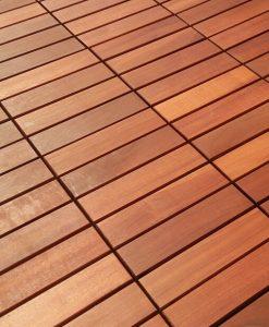 Wie Werden Holzfliesen Verlegt? Auf Dem Balkon Holzfliesen Verlegen