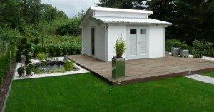 Gartenhaus Terrasse
