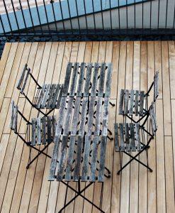 Teak-Terrassendielen 95mm