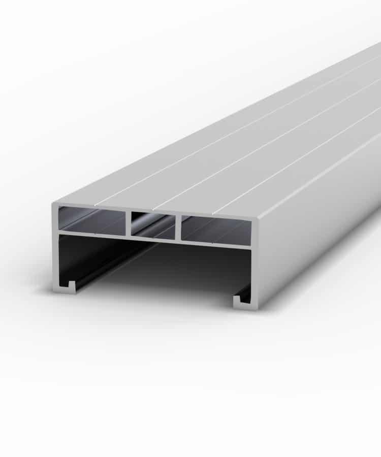 Aluminium-Unterkonstruktion flach