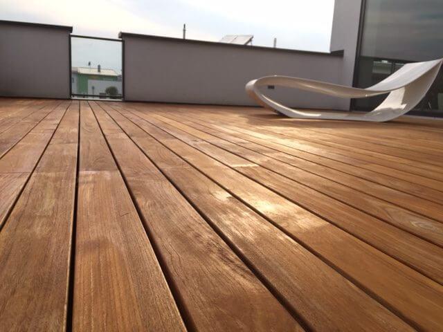 Teakholz terrasse  Teak-Terrasse Indonesien 02 - Betterwood