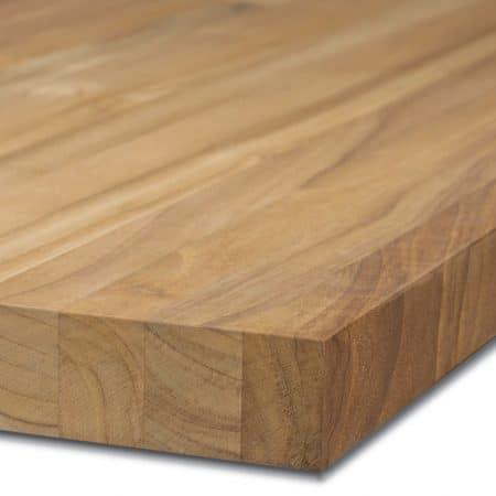 Teak-Tischplatte-40mm