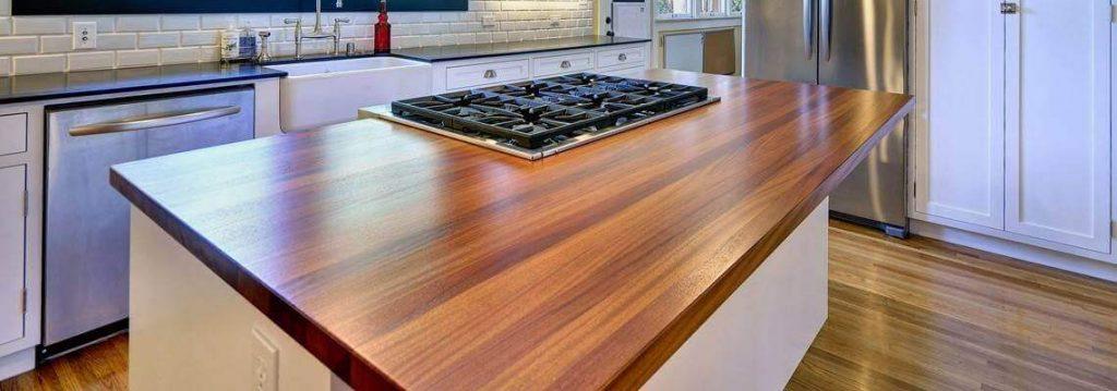 Wohnen Mit Holz Massivholzplatten Aus Teak Im Innenraum - Holzfliesen innenraum