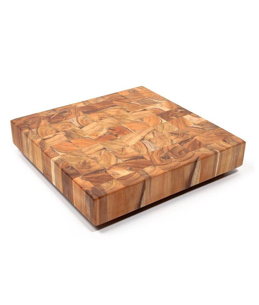 Hackblock N 607 Aus Teak Holz Kaufen Biomaderas Premium