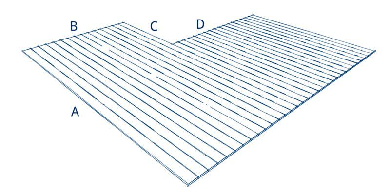 Terrassenplaner L-Form A