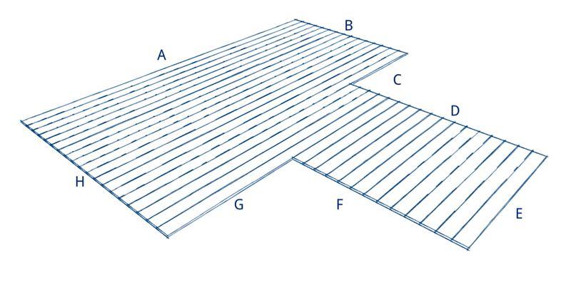 Terrassenplaner T-Form A