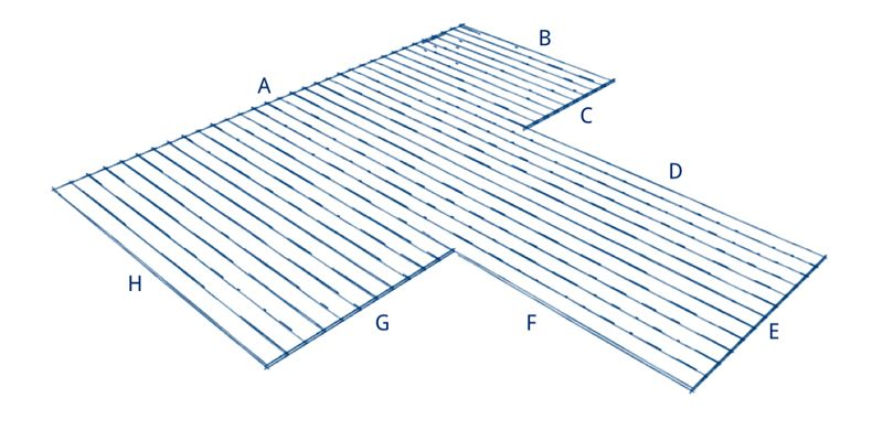 Terrassenplaner T-Form B