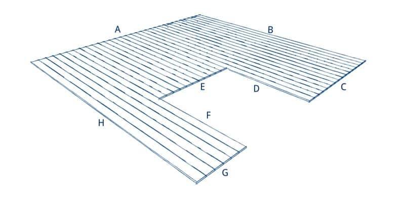 Terrassenplaner U-Form B