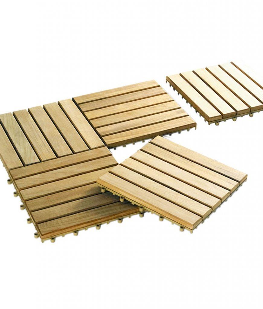 Holzfliesen Für Terrasse Und Balkon Verlegen Und Pflegen