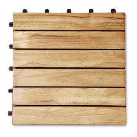 Teak-Holzfliesen kaufen