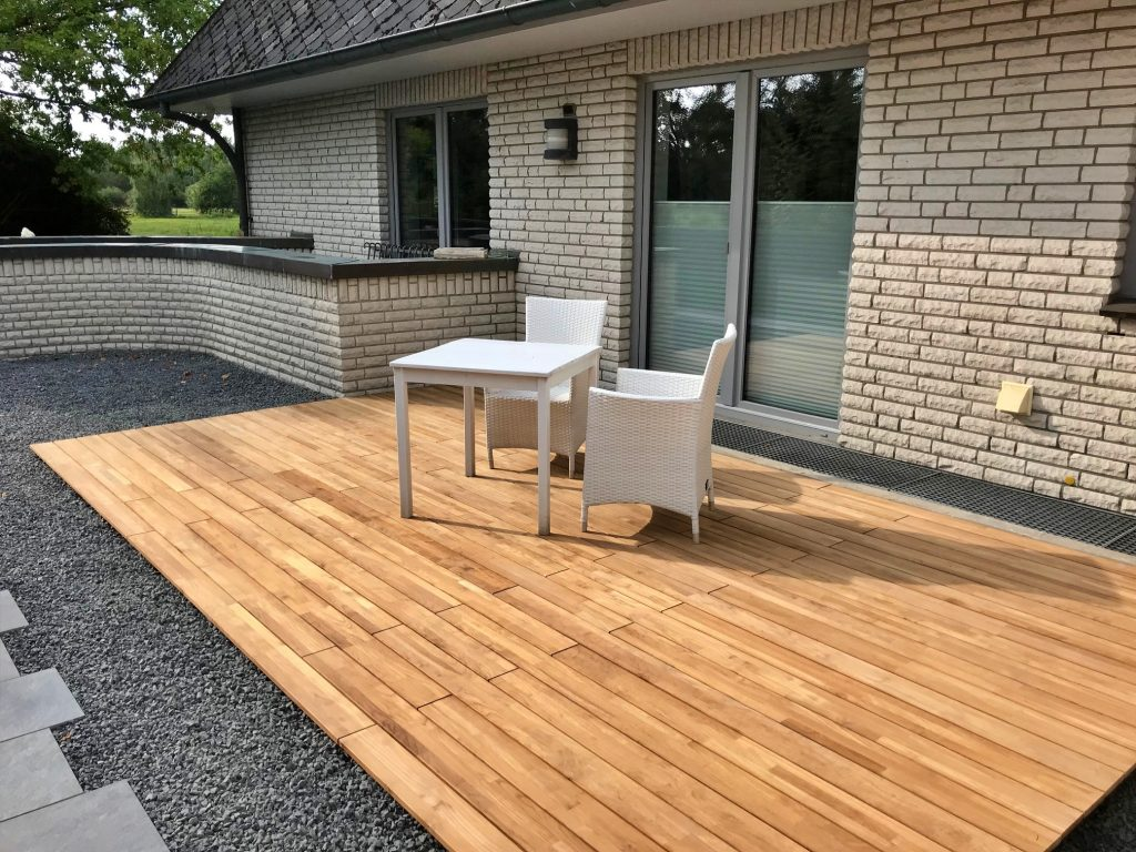 Teak-Terrassendielen 120mm, Wardenburg